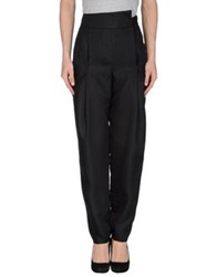 Les Prairies De Paris Casual Pants Black