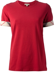 Burberry Brit Classic T Shirt Red