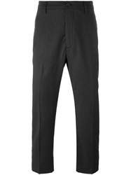 Pence Front Pleat Trousers Grey