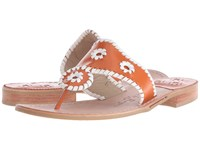 Jack Rogers Spirit Orange White Women's Shoes