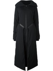 Y 3 Padded Maxi Coat Black