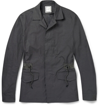 Wooyoungmi Cotton Twill Field Jacket Gray