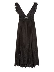 Zimmermann Alchemy Flutter Back Eyelet Lace Dress