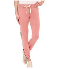 Billabong Turn It Up Pants Rustic Rose Women's Casual Pants Orange