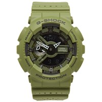 G Shock Casio Ga 110Lp 3Aer 'Punching Pattern' Watch Green