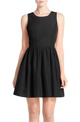 A By Amanda Women's 'Emmie' Cutout Back Fit And Flare Dress