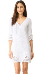 Minkpink Knot Me Dress White