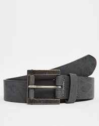 New Look Belt In Faux Leather Black