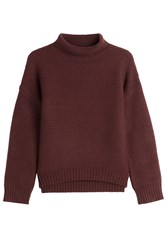 Vince Wool And Cashmere Pullover Red