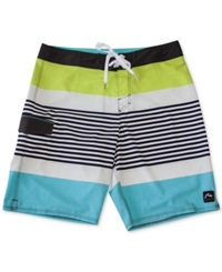 Rusty Hippy Daze 20' Board Shorts Turquoise