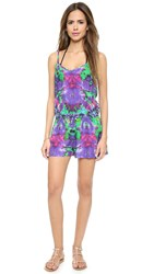 Bindya Beach Romper Hippie Trance Blue
