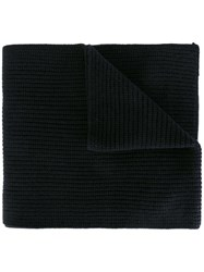 Rag And Bone Knit Scarf Black