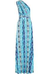 Tart Collections Infinity Printed Stretch Modal Jersey Halterneck Maxi Dress