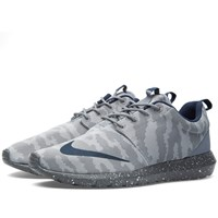 Nike Roshe Nm Fb Flat Silver And Obsidian