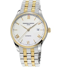 Frederique Constant Fc303wn5b3b Classics Index Gold Plated Stainless Steel Watch