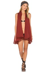 L Space Ocean Drive Cover Up Rust