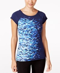 Ideology Graphic T Shirt Only At Macy's Navy Serenity