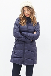 Forever 21 Zippered Puffer Jacket