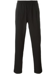 Soulland 'Pino' Drawstring Trousers Black