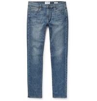 Frame L'homme Stretch Denim Jeans Indigo