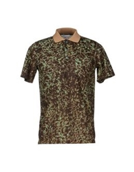 Carven Polo Shirts Green