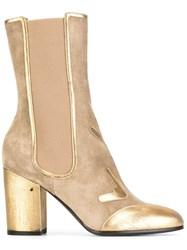 Laurence Dacade Pull On Boots Nude And Neutrals