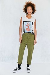 Bdg Alanna Dropped Chino Pant Green