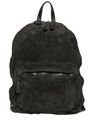 Giorgio Brato Reversed Leather Backpack