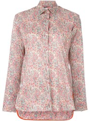 Paul Smith Paisley Print Shirt