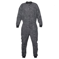 One Wolf Uniform Jump Suit Grey