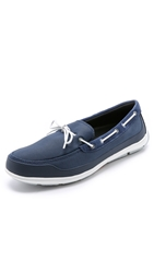 Swims George Summer Lace Loafers Navy White