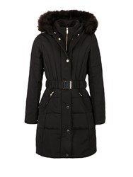 Morgan Feather Filled Down Jacket Black