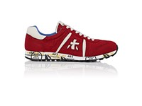 Premiata Men's Lucy Sneakers Red