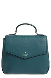 Kate Spade New York Spencer Court Adaire Convertible Leather Backpack Green Emerald Forest