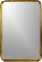 Cb2 Croft Brass 16''X24.5'' Mirror