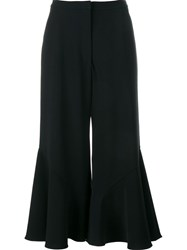 Peter Pilotto Flared Culottes Black