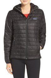 Patagonia Women's 'Nano Puff' Hooded Water Resistant Jacket