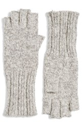 Caslonr Women's Caslon Knit Fingerless Gloves Grey Combo