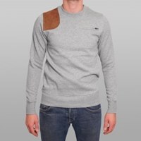 Ymc Sweatshirt Grey Hunting Buy Mens Designer Clothing At Denim Geek Online