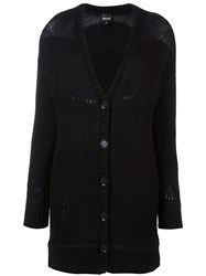 Just Cavalli Knitted Cardi Coat Black