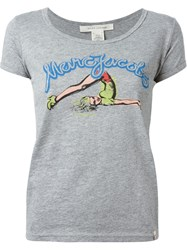 Marc Jacobs Pin Up Print T Shirt Grey