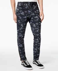American Rag Men's 5 Pocket Camo Print Jogger Pants Only At Macy's Gunmetal