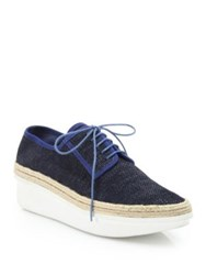 Derek Lam Gordon Too Suede Platform Oxfords