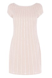 Coast Andrianna Embellished Dress Natural