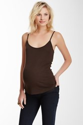 Michael Stars Camisole Tank Brown