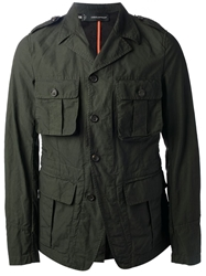 Dsquared2 Military Style Jacket Grey