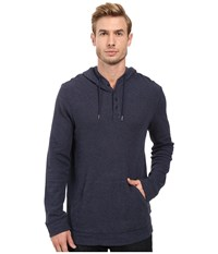 Lucky Brand Grey Label Hoodley Navy Men's Clothing