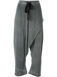 Lost And Found Ria Dunn Wrapped Pants Grey