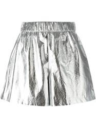 M Missoni Metallic Wide Leg Shorts