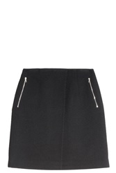 Acne Studios Twill Wrap Skirt Black